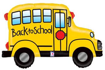 "32""B Back to School Bus(1 count)"
