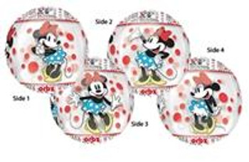 """15""""A Orbz, Minnie Mouse Classic(1 count)"""