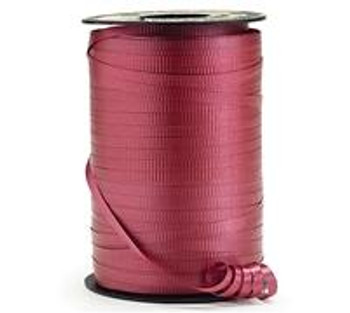 "3/16"" Curling Ribbon Burgundy(1 count)"
