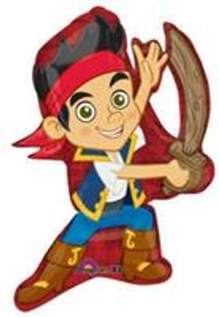 "31"" Jake & The Never Land Pirates( 5 count)"