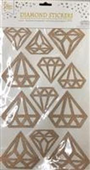 Stickers, Diamond Rose Gold
