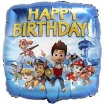 "18""A Paw Patrol, Happy Birthday (5 count)"