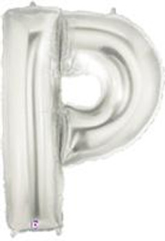 "7""B Silver P (5 count)"