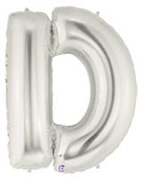 "7""B Silver D (5 count)"