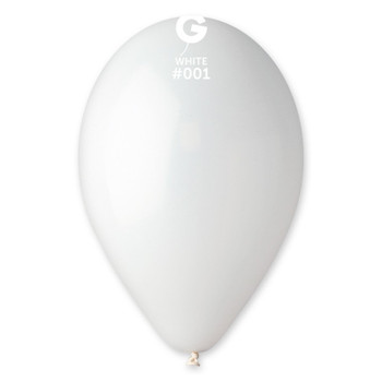 "12""G White #001 (50 count)"