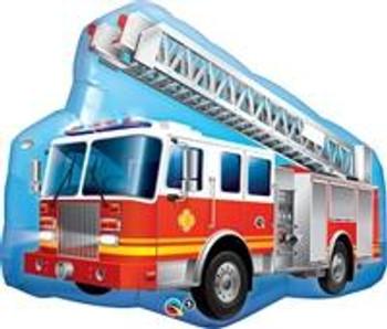 """36""""Q Fire Truck Pkg (5 count)"""