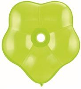 "6""Q Geo Blossom Lime Green (50 count)"