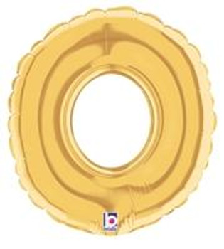 "7""B Mega, Gold O (5 count)"