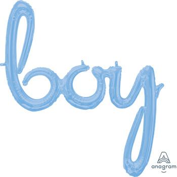 """29""""A Script Boy Pastel Blue (1 count)"""