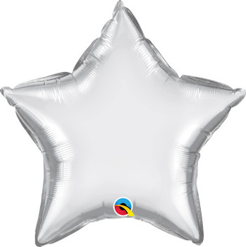 "20""Q Star Chrome Silver (10 count)"