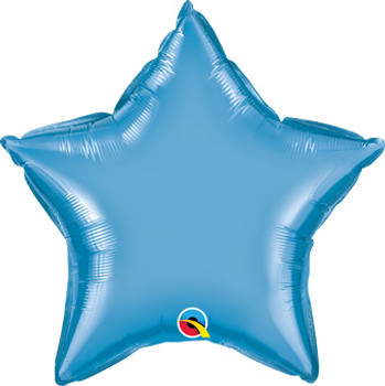 "20""Q Star Chrome Blue (10 count)"