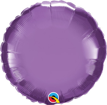 "18""Q Circle Chrome Purple (10 count)"