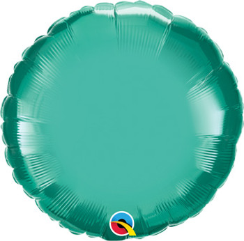 "18""Q Circle/ Round Chrome Green (10 count)"