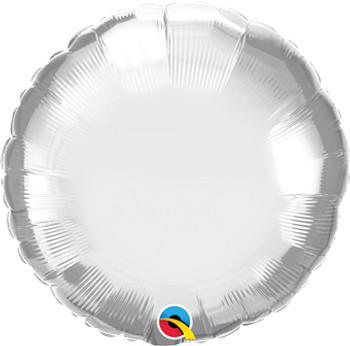 "18""Q Circle/ Round Chrome Silver (10 count)"
