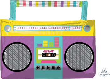 """27""""A Awesome Party Boombox (5 count)"""