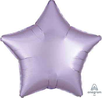 """19""""A Star, Satin Luxe Pastel Lilac (10 count)"""