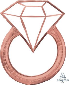 "30""A Diamond Wedding Ring Blush(1 count)"