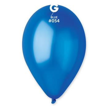 "12""G Metallic Blue #054 (50 count)"