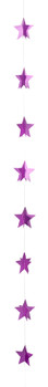 6' Mini Banner, Diamond Star Pink(1 count)