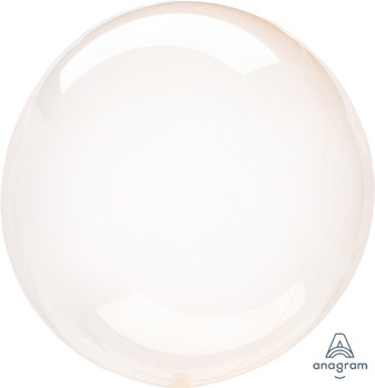 """18""""A Crystal Clearz Orange(5 count)"""