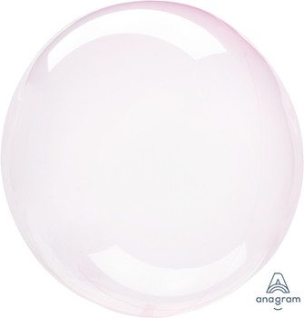 """18""""A Crystal Clearz Light Pink(5 count)"""