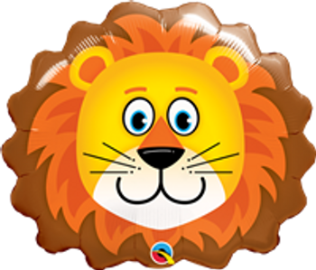 """29""""Q  Lovable Lion Head Pkg (5 count)"""