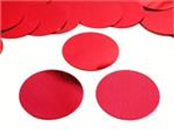 """Confetti Circles , Mylar Red 1""""(1 count)"""