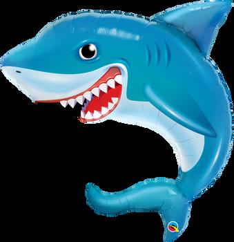 """36""""Q Smilin' Shark(1 count)"""