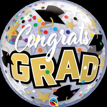 """22""""Q Bubble, Congrats Grad(1 count)"""