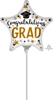 "9""A Graduate, Congratulations Star(10 count)"