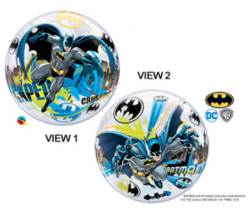 """22""""Q Bubble Batman The cape Crusader (1 count)"""