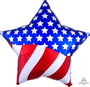 "28""A American Flag Star (1 count)"