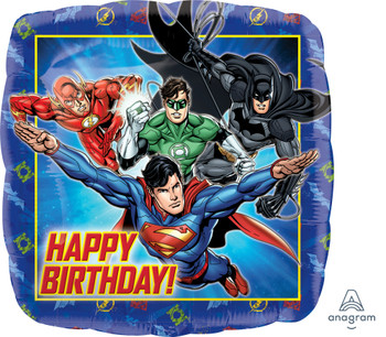 "18""A Justice League Happy Birthday(5 count)"