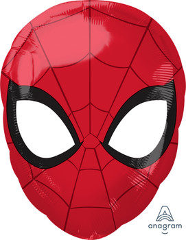 "17""A Spiderman Head (5 count)"