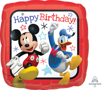 "18""A Mickey Mouse Roadster Happy Birthday(5 count)"