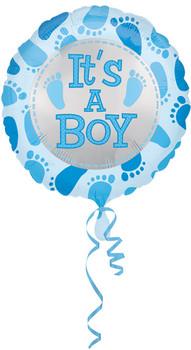 "18""A Baby Boy, Cute Feet(10 count)"