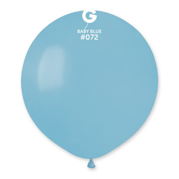 """19""""G Baby Blue #072 (25 count)"""