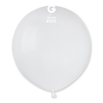 "19""G White #001 (25 count)"