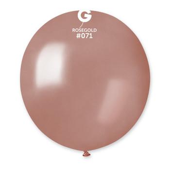 "19""G Metallic Rose Gold #071 (25 count)"