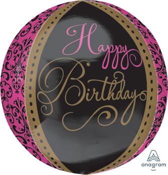 "16""A  Orbz Happy Birthday Fabulous Celebration(1 count)"