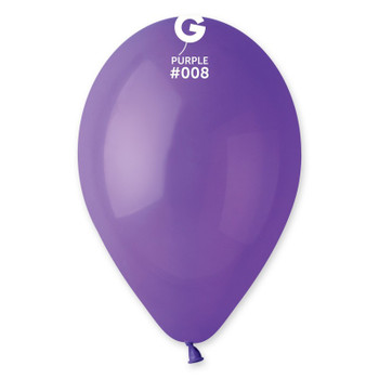 "12""G Purple #008 (50 count)"