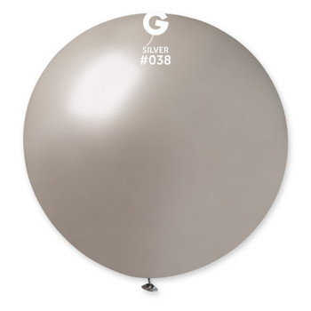 "31""G Metallic Silver #038(1 count)"