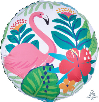 "18""A Tropical Jungle Flamingo (5 count)"