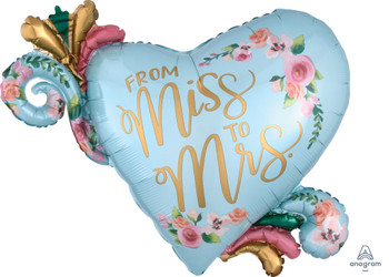 """32""""A From Miss to Mrs. - Mint To Be(1 count)"""