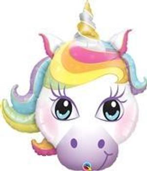 "38""Q Unicorn, Magicial Head (5 count)"