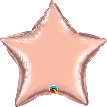 "9""Q Star Rose Gold (10 count)"