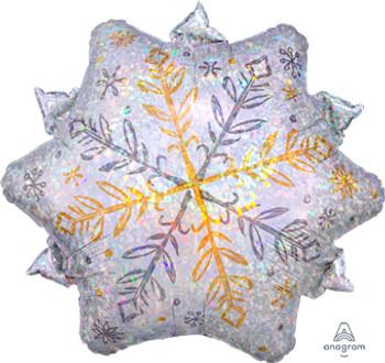 "18""A Snowflake Shining Holo(5 count)"