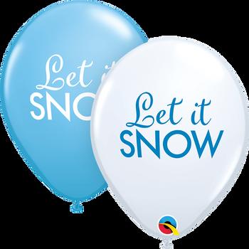 """11""""Q Let It Snow(50 count)"""