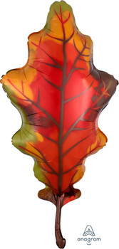 "42""A Leaf, Oak Orange (1 count)"
