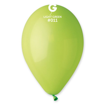 "12""G Light Green #011 (50 count)"